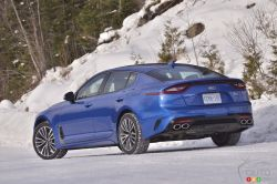 We test drive the 2019 Kia Stinger GT-Line
