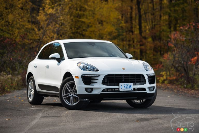 Photos du Porsche Macan 2017