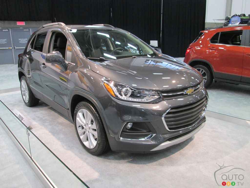 2017 chevy trax debuts in canada at quebec city auto show car news auto123. Black Bedroom Furniture Sets. Home Design Ideas