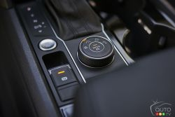 Driving mode selector