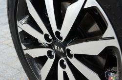 2017 Kia Sportage wheel detail