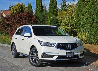 Photos de l'Acura MDX Navi 2017