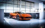 Jaguar C-X75 from the James Bond movie pictures