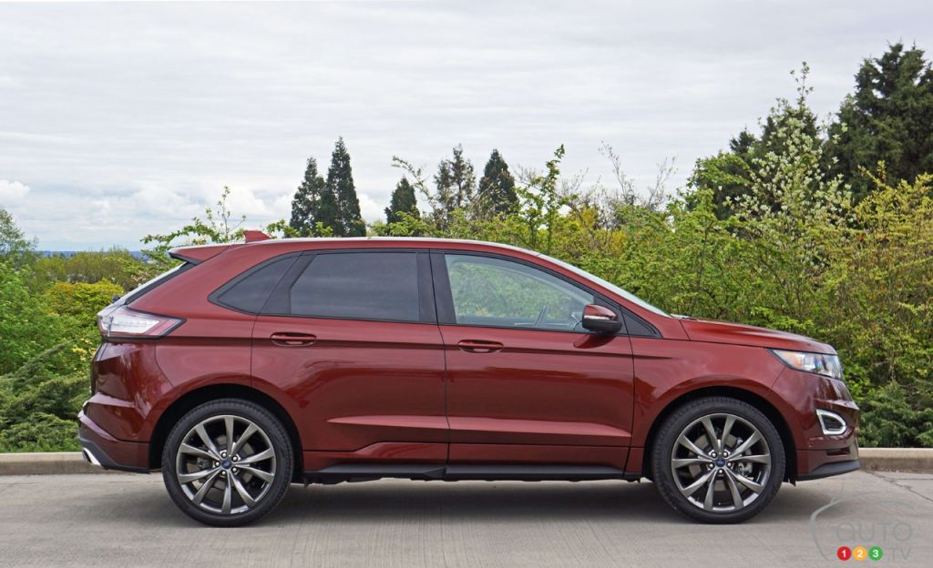 2016 ford edge sport road test car reviews auto123. Black Bedroom Furniture Sets. Home Design Ideas