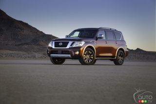 2017 Nissan Armada pictures