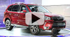 2014 Subaru Forester at the Montreal Auto Show Video
